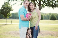 Family session in Frisco, Texas