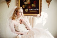 Stunning indoor bridal portrait photography